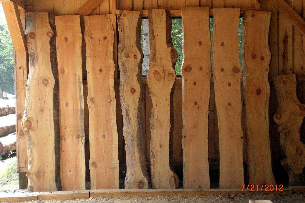 Woodmizer Sawmill For Sale >> Wilson Creek Woodsmithing--Lumber