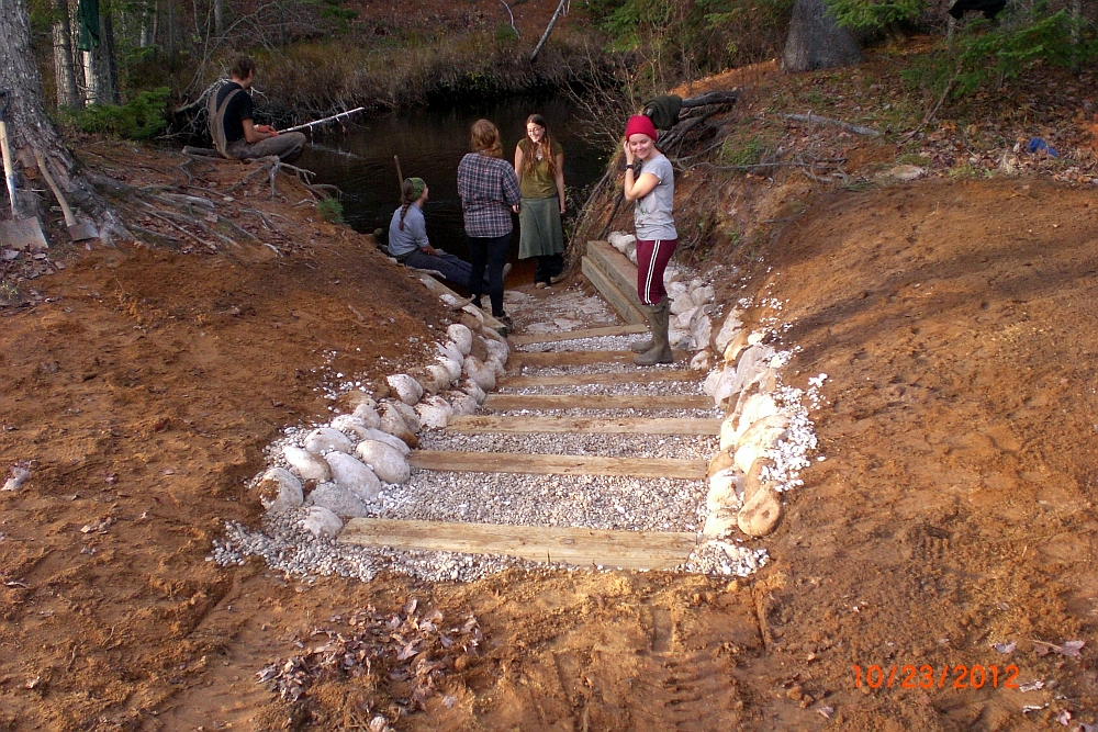 Wilson Creek Woodsmithing Stream Restoration