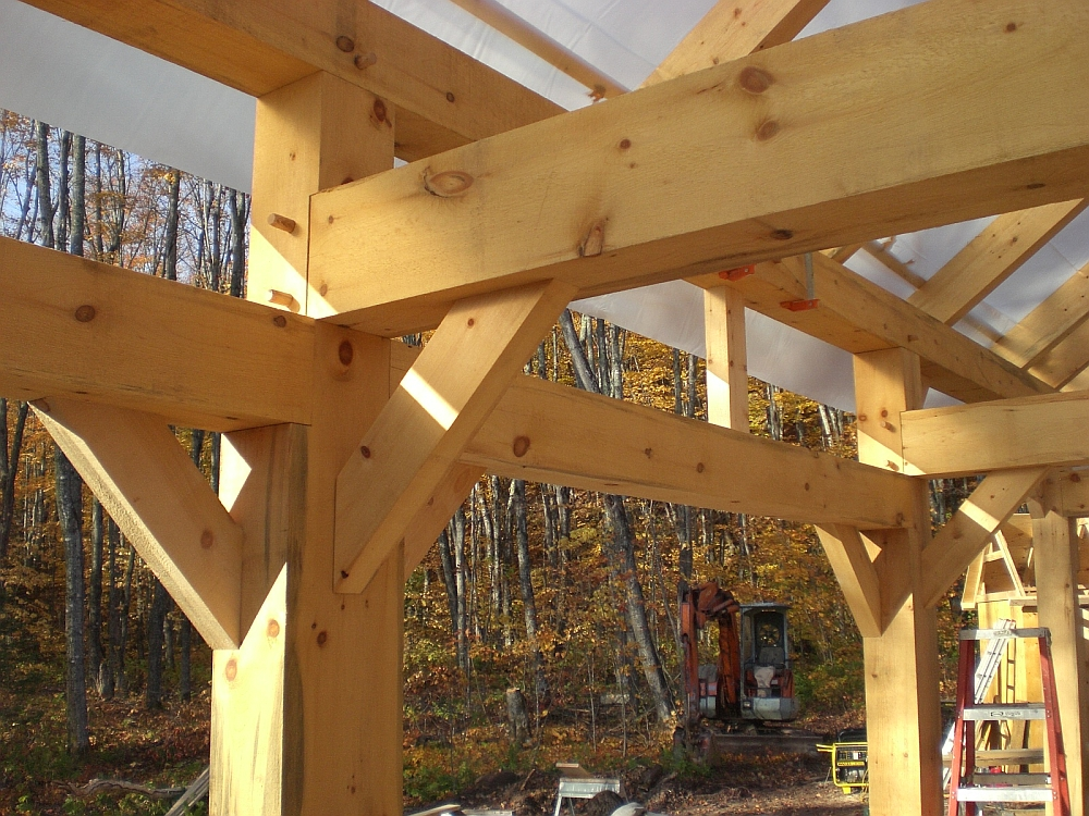 Wilson Creek Woodsmithing Timber Framing